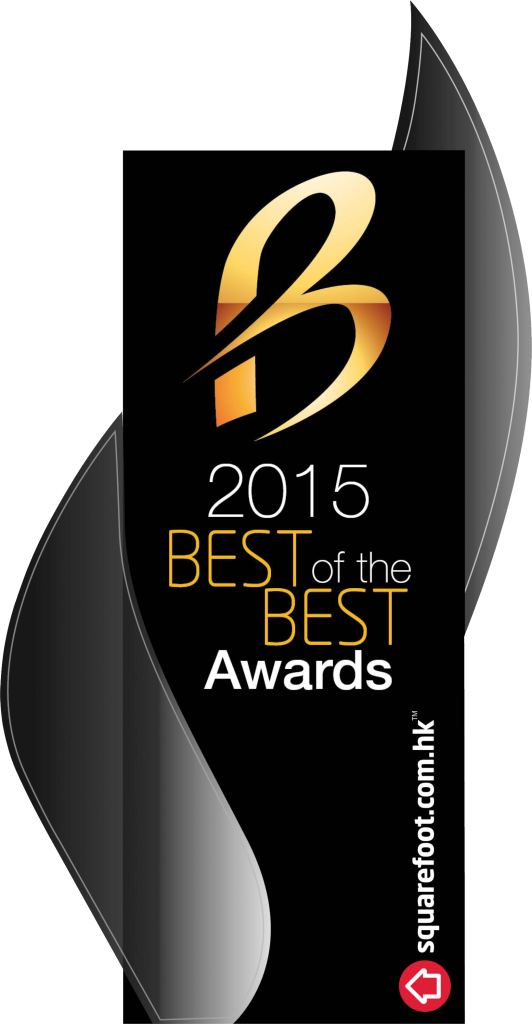 """Best Property Project"" in ""Best of the Best Awards 2015"" by Squarefoot.com.hk"